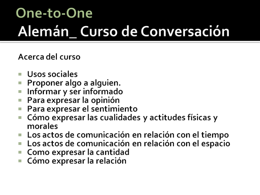 Alemán_One-to-One
